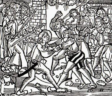 Erfurter-Studentenunruhen-1509