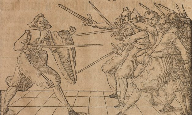 Hack & Slash in the Age of Reason: Italian Rapier Against Multiple Opponents