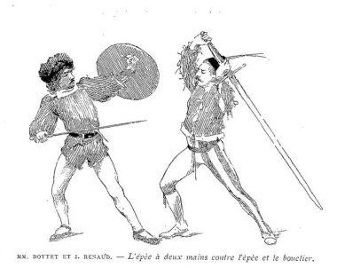 Messrs. Bottet & Renaud - Sword and buckler versus two-handed sword