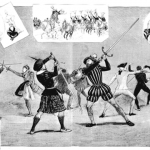 Scenes of Historical Fencing