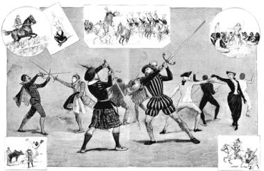 Scenes of Historical Fencing