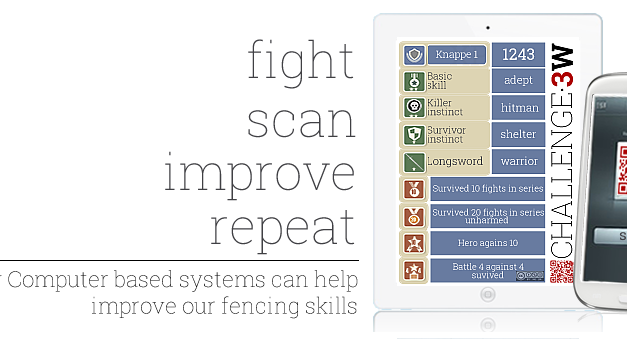 How computer based systems can help improve our fencing skills.
