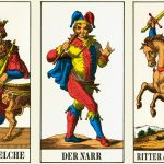 Swiss Trockas deck of cards, probably brought in from Italy in the 17th cent.