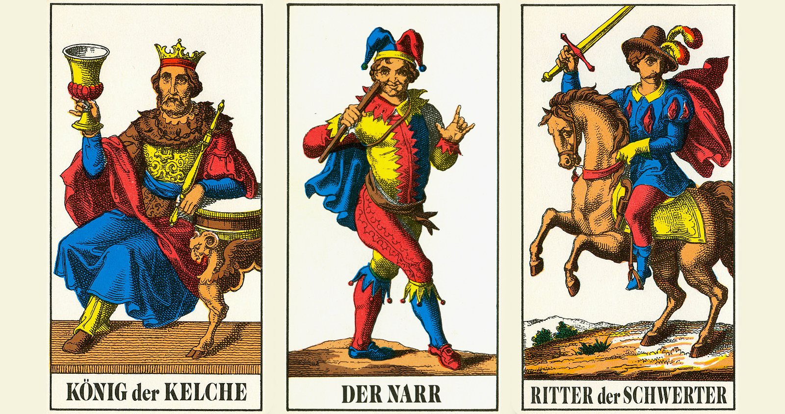 King and Fool - The Vier Leger of Liechtenauer's Tradition