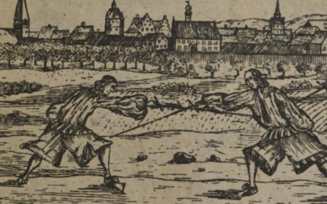 Johann Georg Paschen's Rapier Lessons: Developing a curriculum for teaching rapier fencing