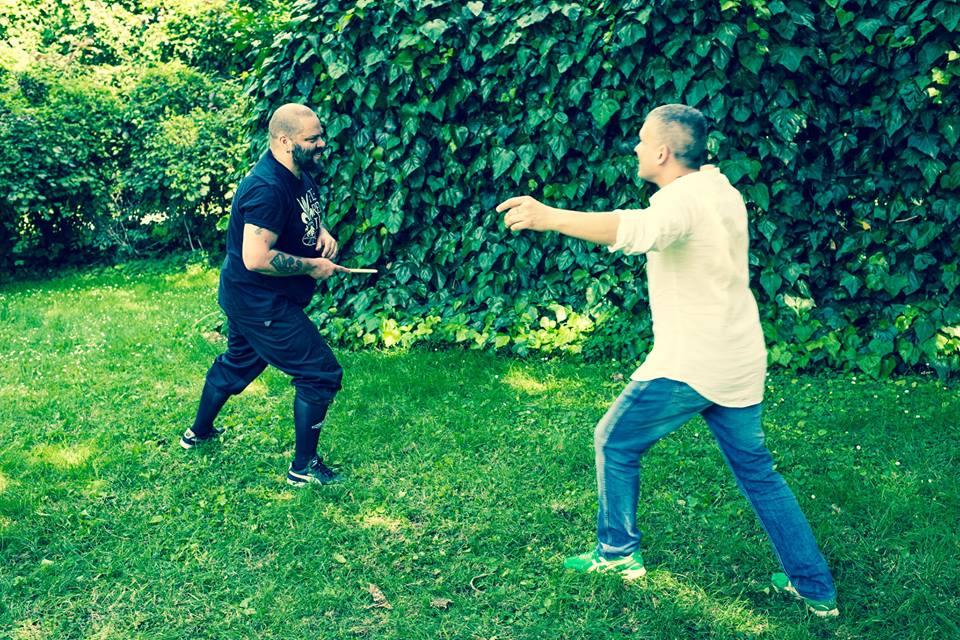 Fighting as a communicative skill