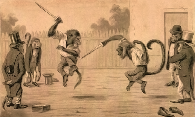 Fighting with a monkey ghost on your back