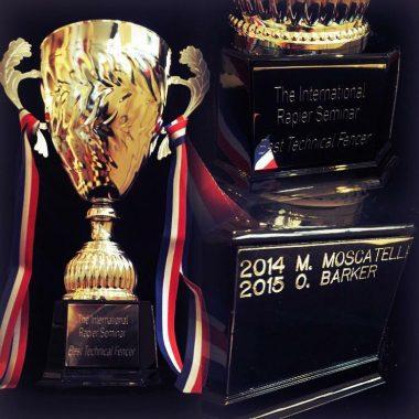 Prize for Best Technical Fencer at the International Rapier Seminar