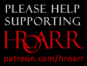 Support HROARR on Patreon.com/hroarr