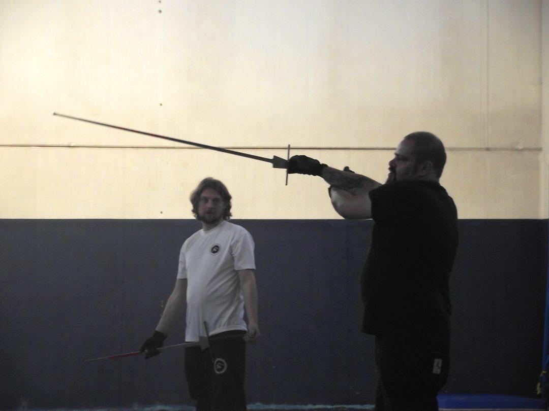 3d allenamento aperto con gli Appesi, Sala d'Arme dell'Appeso. Asola, Italy